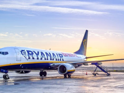 RyanAir announced an investment of $100mln in a brand new Bulgarian airbase.